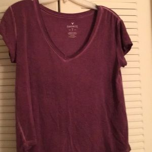 A distressed t shirt from American Eagle